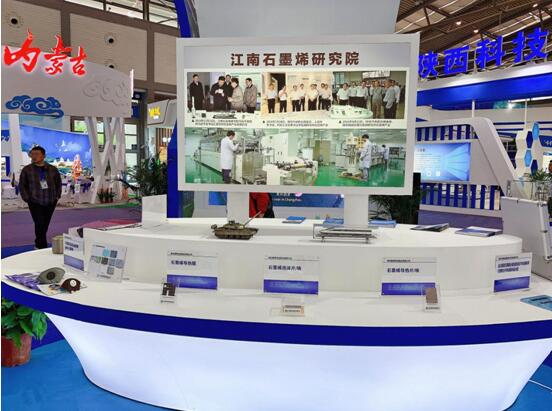 江南石墨烯研究院参加第四届丝绸之路国际博博览会